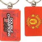 manchester united llavero doble campeon 1