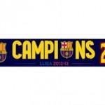 barcelona bufanda campeon 1