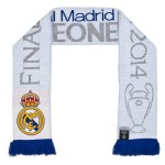 real madrid bufanda2014 jacquard 2