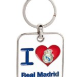 real madrid llavero corazon 1