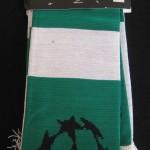Celtic bufanda verde blanco 2