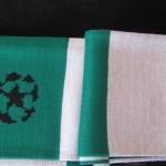 celtic bufanda verde blanco 3