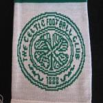 celtic bufanda verde blanco 5