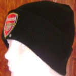 ARSENAL GORRO NEGRO 22