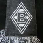 borussia bufanda negra 44