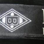 borussia bufanda negra 55