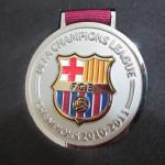 barcelona medalla campeon ucl 2011 5
