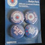 rangers botones set 2 5