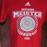 bayern munchen playera roja bundesliga campeon 5