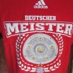 bayern munchen playera roja bundesliga campeon 6